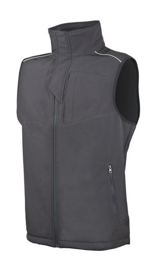 Obrázek z ARDON SPIRIT Pánská softshellová vesta černá