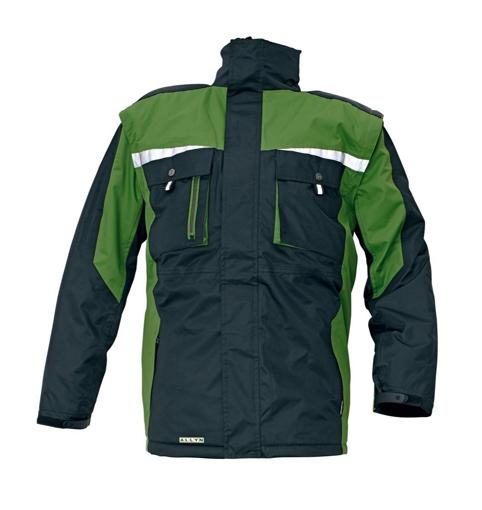 Obrázek z Australian Line ALLYN Pracovní bunda 2v1 zelená - zimní