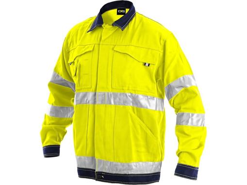 Obrázek z CXS NORWICH Reflexní bunda žlutá