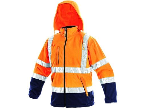 Obrázek z CXS DERBY Reflexní bunda oranžová