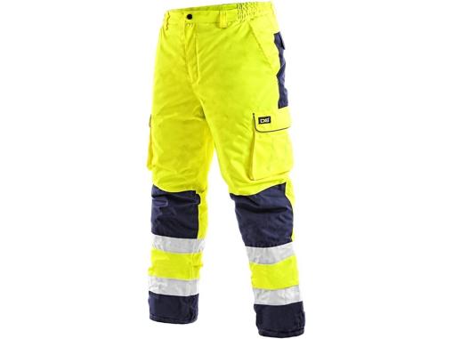 Obrázek z CXS CARDIFF Reflexní kalhoty žluté