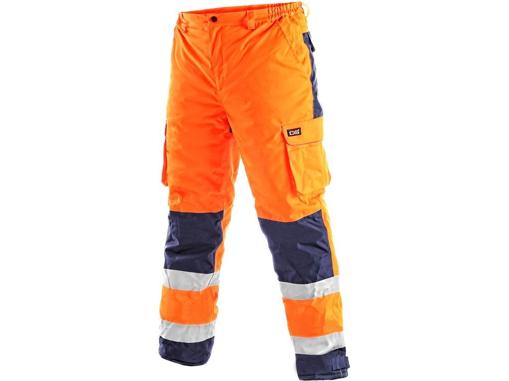 Obrázek z CXS CARDIFF Reflexní kalhoty oranžové