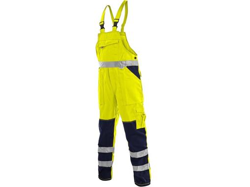 Obrázek z CXS NORWICH Reflexní kalhoty s laclem žluto - modré