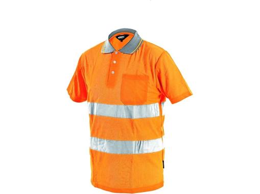 Obrázek z Vizwell DOVER Reflexní tričko oranžové