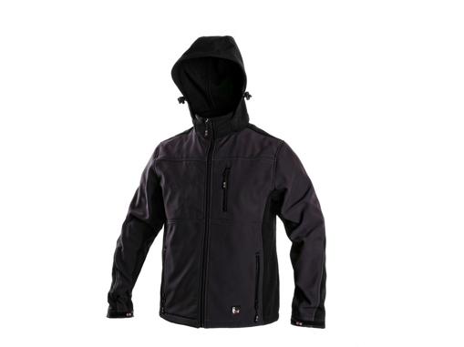 Obrázek z CXS FRANCISCO Pánská softshellová bunda šedo-černá