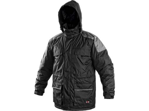 Obrázek z CXS FREMONT Pánská bunda černá zimní