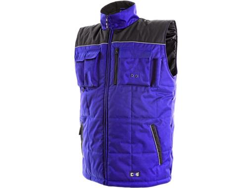 Obrázek z CXS SEATTLE Pracovní vesta modrá - zimní