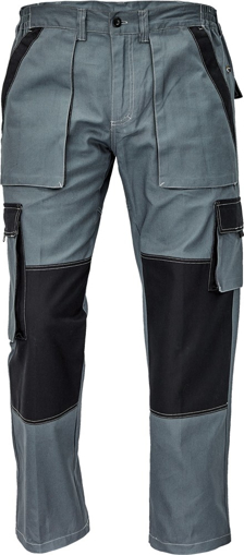 Obrázek z Červa MAX SUMMER Pracovní kalhoty do pasu antracit / černá