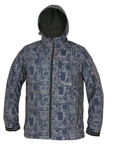 Obrázek z CRV GLASSON Pánská softshellová bunda modrá