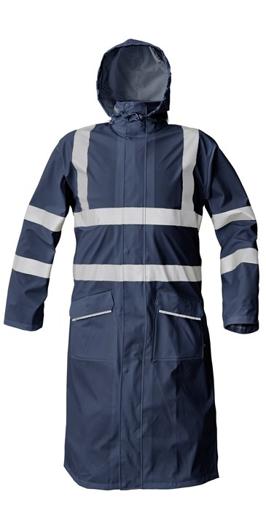 Obrázek z Červa SIRET HV reflexní plášť do deště modrý