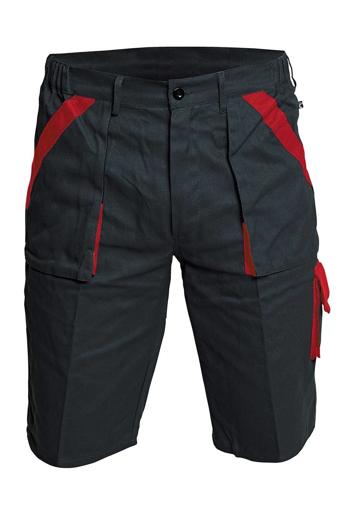 Obrázek z Červa MAX Pracovní šortky černo / červená