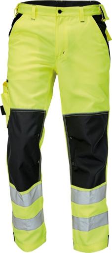 Obrázek z KNOXFIELD HI-VIS Reflexní kalhoty do pasu - žlutá