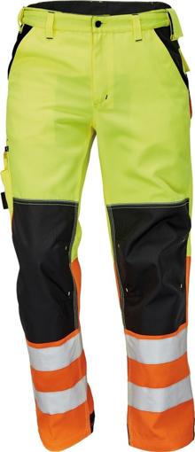 Obrázek z KNOXFIELD HI-VIS Reflexní kalhoty do pasu - žlutá / oranžová