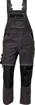 Obrázek z KNOXFIELD Pracovní kalhoty s laclem - antracit / žlutá