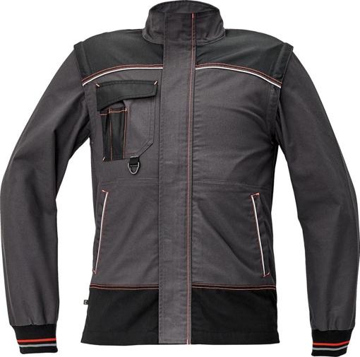 Obrázek z KNOXFIELD Pracovní montérková bunda - antracit / červená