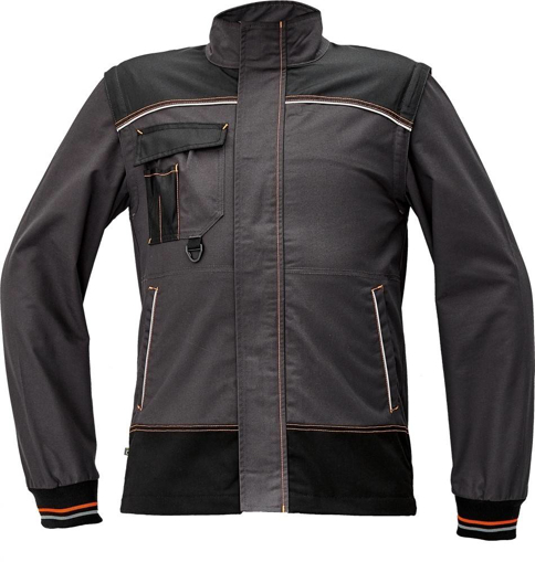 Obrázek z KNOXFIELD Pracovní montérková bunda - antracit / oranžová