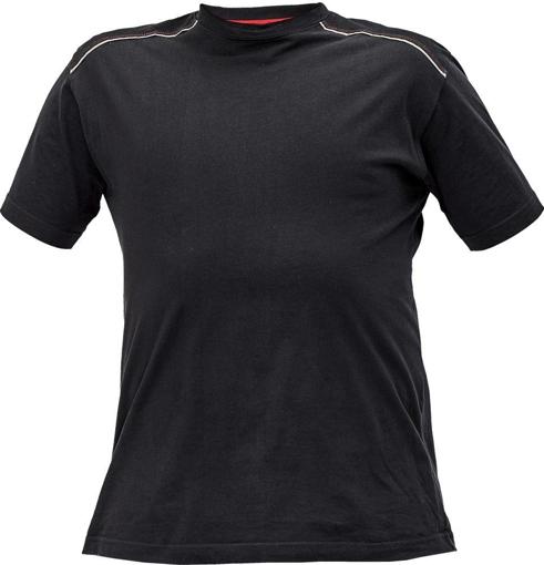 Obrázek z KNOXFIELD Pracovní tričko - antracit / červená