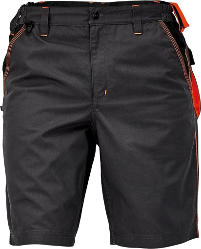 Obrázek z KNOXFIELD Pracovní šortky - antracit / oranžová