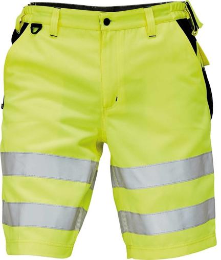 Obrázek z KNOXFIELD HI-VIS Reflexní pracovní šortky - žlutá