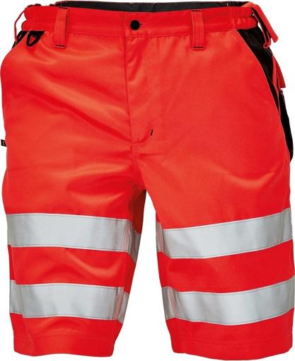 Obrázek z KNOXFIELD HI-VIS Reflexní pracovní šortky - červená
