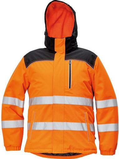 Obrázek z KNOXFIELD HI-VIS Reflexní bunda oranžová - zimní