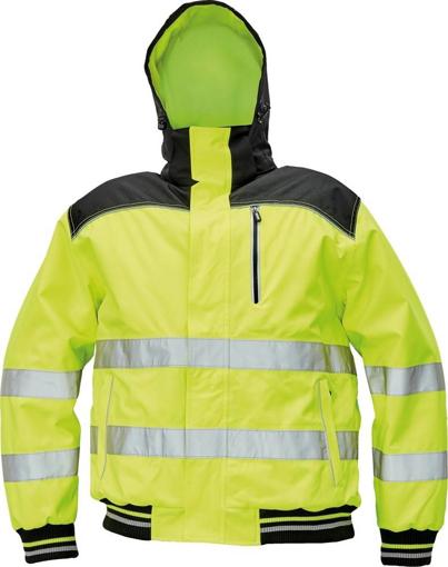 Obrázek z KNOXFIELD HI-VIS PILOT Reflexní bunda žlutá - zimní