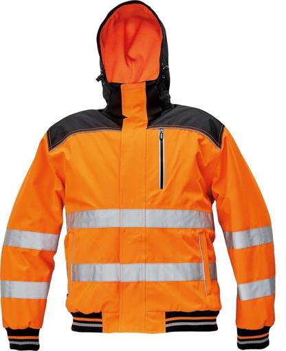 Obrázek z KNOXFIELD HI-VIS PILOT Reflexní bunda oranžová - zimní