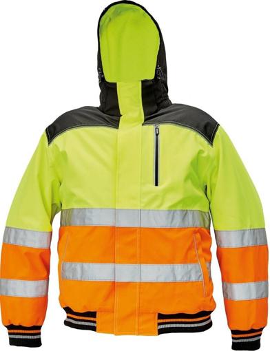 Obrázek z KNOXFIELD HI-VIS PILOT Reflexní bunda žlutá / oranžová - zimní