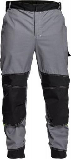 Obrázek z Červa Pracovní kalhoty do pasu URAN šedá