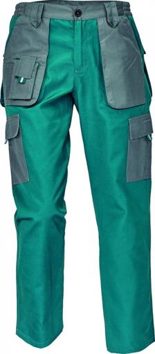 Obrázek z Červa MAX EVOLUTION LADY Dámské kalhoty do pasu zeleno / šedé