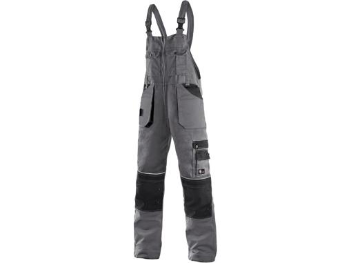 Obrázek z CXS ORION KRYŠTOF Pracovní kalhoty s laclem zkrácené