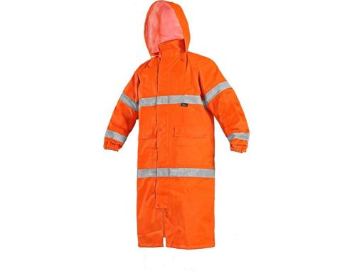 Obrázek z Vizwell BATH Výstražný plášť reflexní oranžová