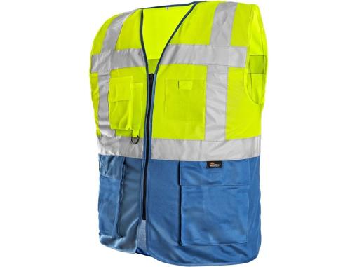 Obrázek z Vizwell BOLTON Výstražná vesta reflexní žlutá