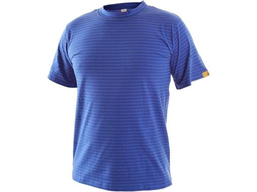 Obrázek z ESD Antistatické tričko modré