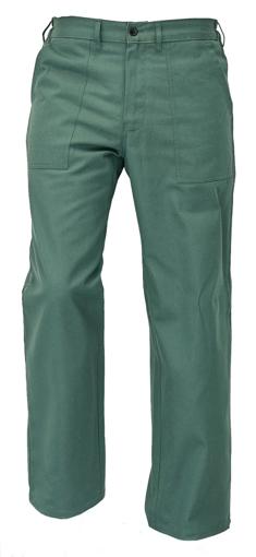 Obrázek z Fridrich & Fridrich UWE BE-01-007 Pracovní kalhoty zelené