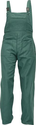 Obrázek z Fridrich & Fridrich UDO BE-01-006 Pracovní kalhoty s laclem zelené