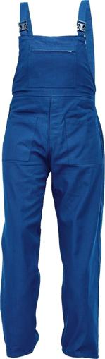 Obrázek z Fridrich & Fridrich UDO BE-01-006 Pracovní kalhoty s laclem modré