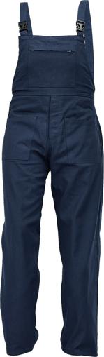 Obrázek z Fridrich & Fridrich UDO BE-01-006 Pracovní kalhoty s laclem navy