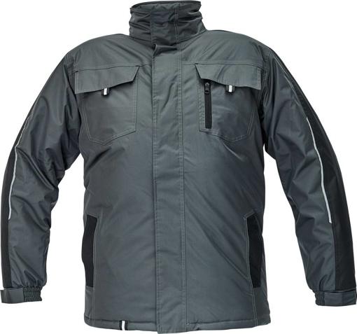 Obrázek z Červa RAPA Pracovní bunda šedá zimní