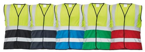 Obrázek z Červa LYNX DUO Reflexní vesta reflexní žlutá