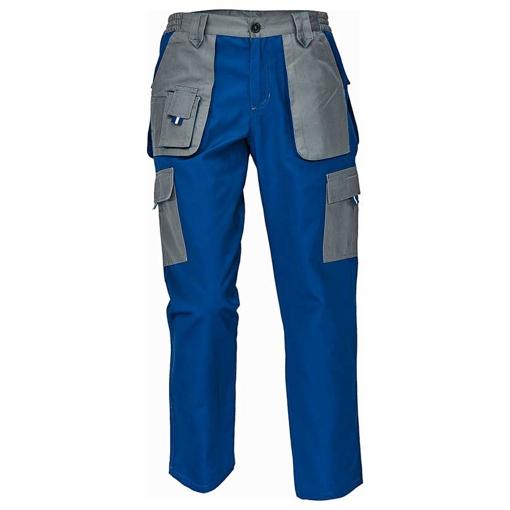 Obrázek z Červa MAX EVOLUTION LADY Dámské kalhoty do pasu modro / šedé