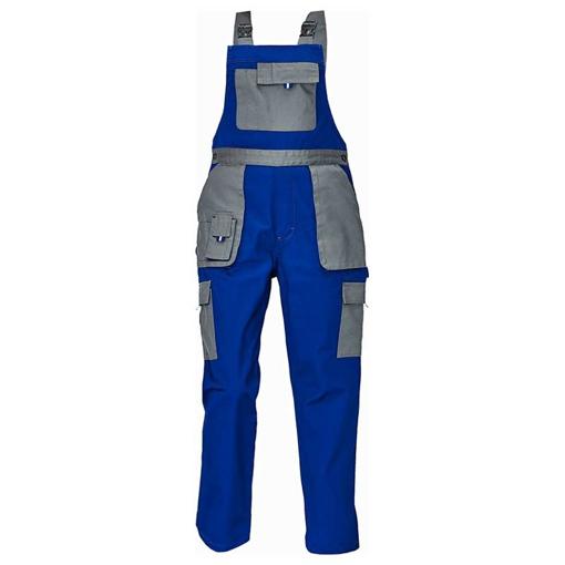 Obrázek z Červa MAX EVOLUTION LADY Dámské kalhoty s laclem modro / šedé