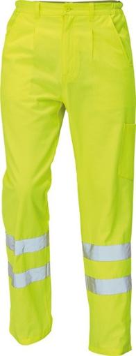 Obrázek z Červa KOROS Reflexní kalhoty žlutá
