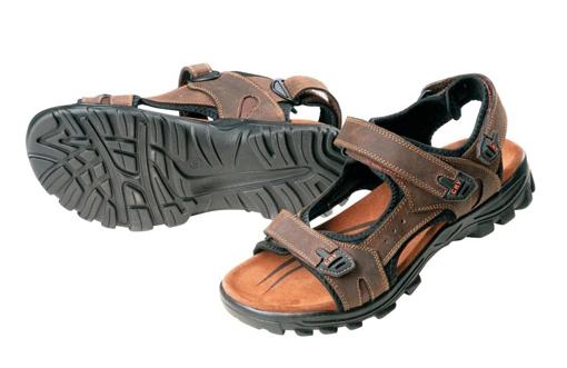 Obrázek z CRV WULIK Pracovní sandály hnědá