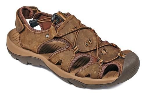 Obrázek z CRV TROON SANDAL Pracovní sandály hnědá