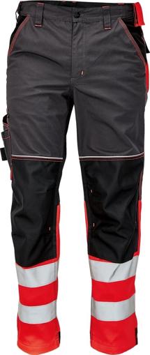 Obrázek z KNOXFIELD REFLEX Reflexní kalhoty do pasu - antracit / červená