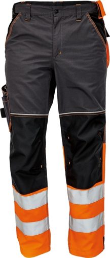 Obrázek z KNOXFIELD REFLEX Reflexní kalhoty do pasu - antracit / oranžová