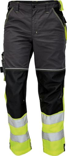 Obrázek z KNOXFIELD REFLEX Reflexní kalhoty do pasu - antracit / žlutá