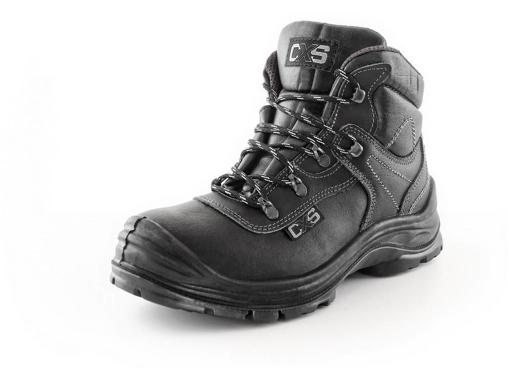 Obrázek z CXS SAFETY STEEL CHROME S3 Pracovní kotníková obuv