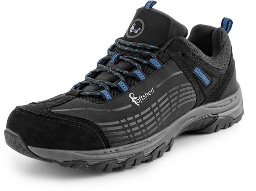Obrázek z CXS SPORT, černo-modrá Outdoor obuv